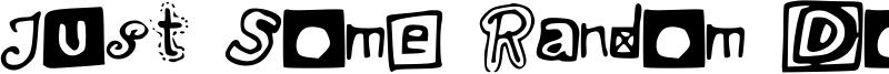 Just Some Random Doodles Font