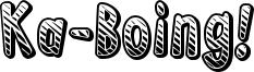 Ka-Boing! Font