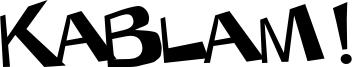 KaBlam ! Font