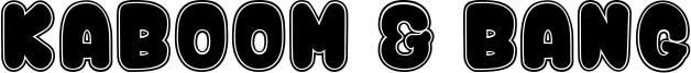 Kaboom & Bang Font