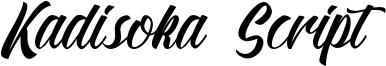 Kadisoka Script Font