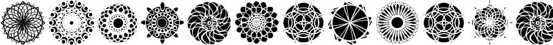 Kaleidoscopic Mind Font
