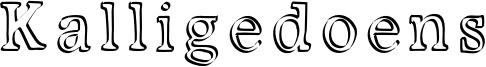 Kalligedoens Font
