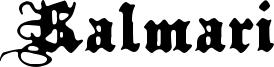 Kalmari Font