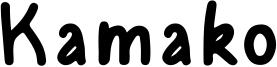 Kamako Font