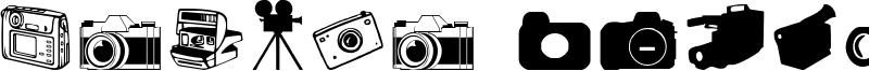 Kamera Dings Font