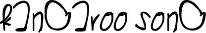 Kangaroo Song Font