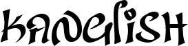 Kanglish Font
