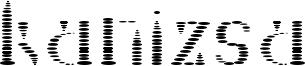 Kanizsa Font