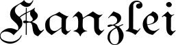 Kanzlei Font