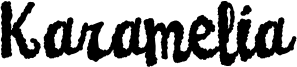 Karamelia Font