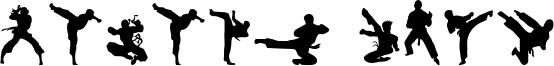 Karate Chop Font