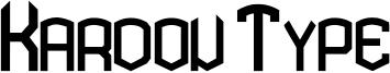 Kardon Type Font