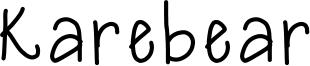 Karebear Font