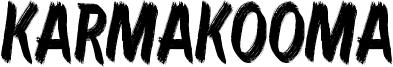 Karmakooma Font