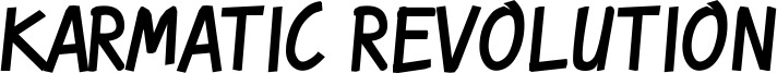 Karmatic Revolution Font