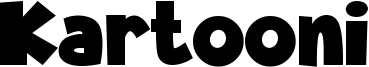 Kartooni Font