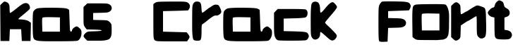 Kas Crack Font Font