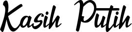 Kasih Putih Font