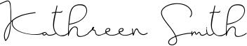 Kathreen Smith Font