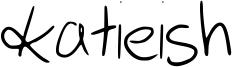 katieish Font
