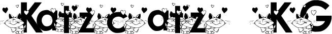 Katzcatz KG Font