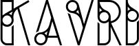 Kavri Font