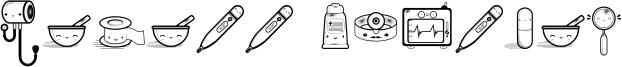 Kawaii Medical Font