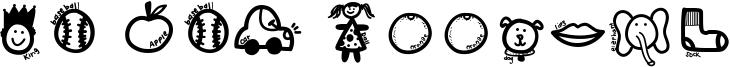KB ABC Doodles Font