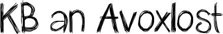 KB an Avoxlost Font
