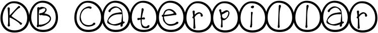 KB Caterpillar Font