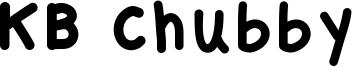 KB Chubby Font