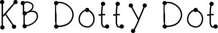 KB Dotty Dot Font