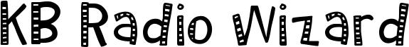 KB Radio Wizard Font