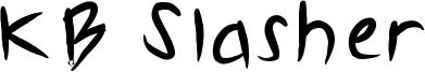 KB Slasher Font