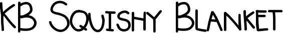 KB Squishy Blanket Font