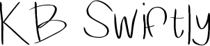 KB Swiftly Font