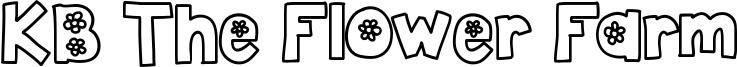 KB The Flower Farm Font