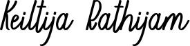 Keiltija Rathijam Font