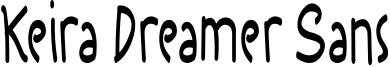 Keira Dreamer Sans Font