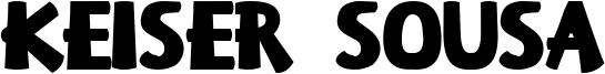 Keiser Sousa Font