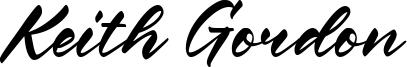 Keith Gordon Font