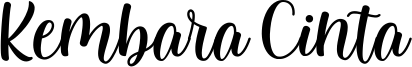 Kembara Cinta Font