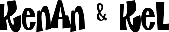 Kenan & Kel Font