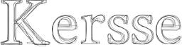 Kersse Font
