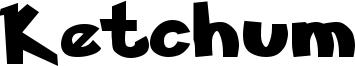 Ketchum Font