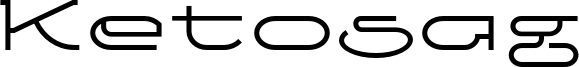 Ketosag Font
