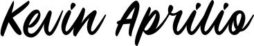 Kevin Aprilio Font