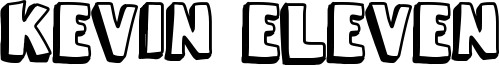 Kevin Eleven Font