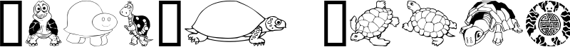 Keya's Turtles Font